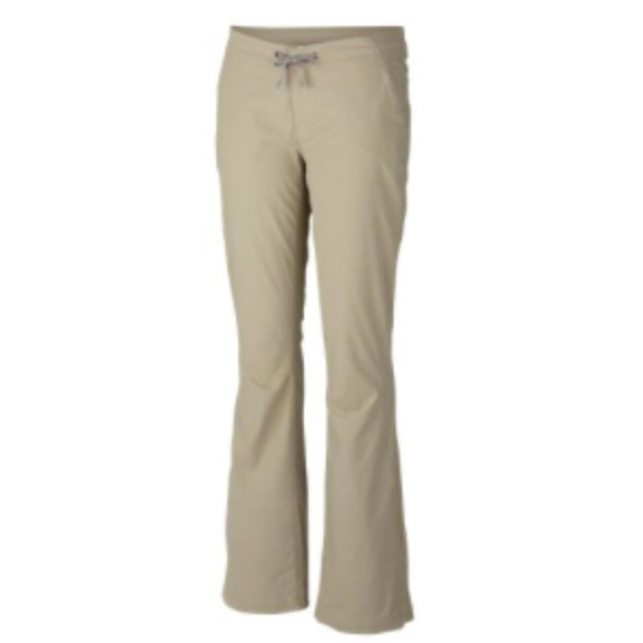 Columbia Omnishield Khaki Activewear Pants S 4